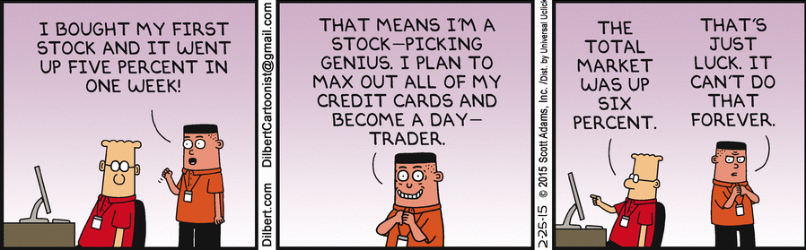 GraycellAdvisors.com ~ Stock Market Outlook 2018 - Dilbert