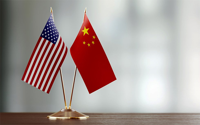 GraycellAdvisors.com ~ US China Flags